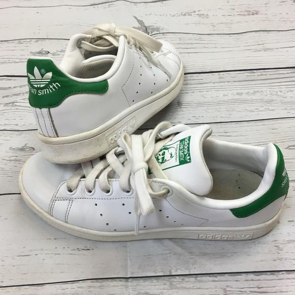 ADIDAS Stan Smith Ortholite White Green Sneakers 5